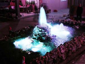 Izrada fontane sa svetlima